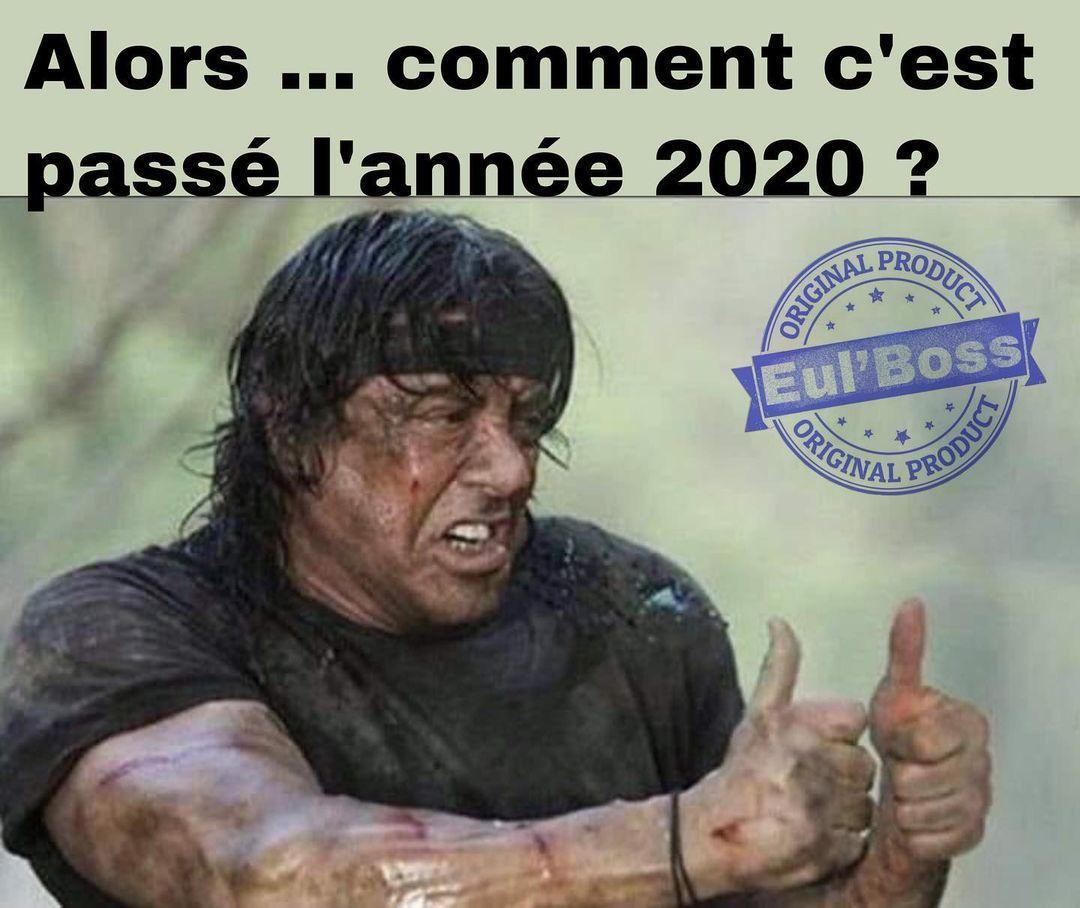 Ton année 2020 ?