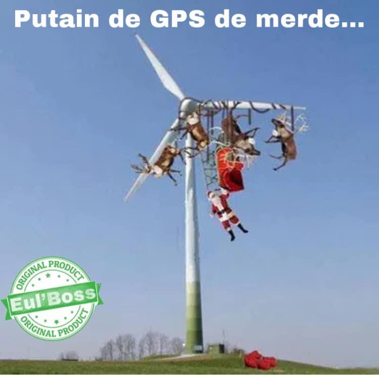 GPS de merde