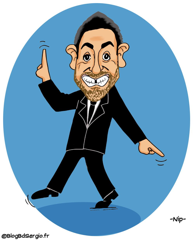 Caricature de Camille comcal