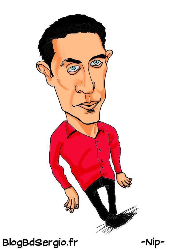 Gad Elmaleh Caricature