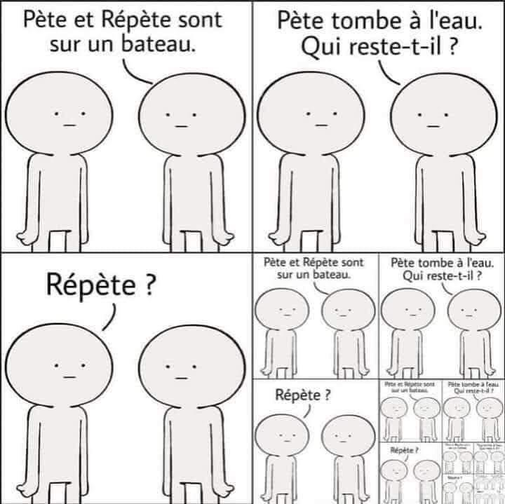Pète et répète