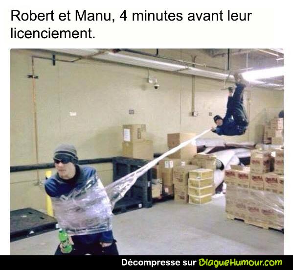 Robert et manu...