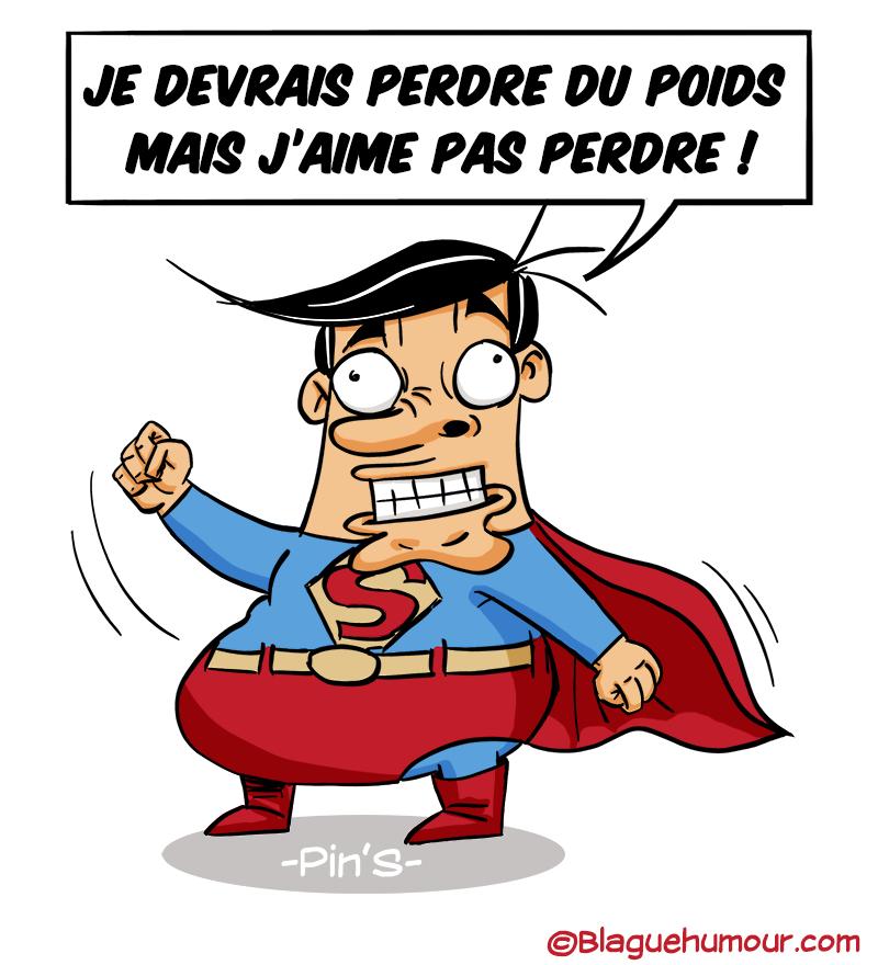 Superman enveloppé